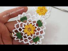 Foto - ideas hermosas y diferentes Granny Square Crochet Pattern, Crochet Flower Patterns, Crochet Squares, Crochet Granny, Crochet Motif, Crochet Doilies, Crochet Flowers, Crochet Stitches, Hairpin Lace Crochet
