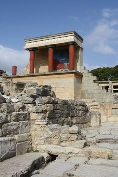 The most likely theory of the fall of the Minoans is the possibility of an invasion by the Mycencaeans, as their culture greatly affects the minoans.