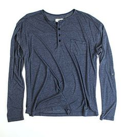 The Bowery Henley (Navy)