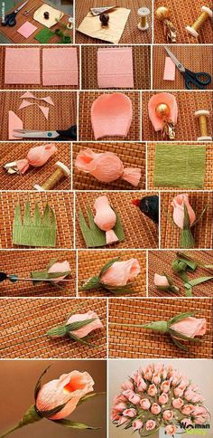 Step by step DIY paper flowers wedding bouquets tutorials . Best Picture For Wedding Bouquet simpl Candy Flowers, Paper Flowers Wedding, Tissue Paper Flowers, Paper Roses, Diy Flowers, Fabric Flowers, Flower Bouquets, Chocolate Flowers Bouquet, Decoration Evenementielle