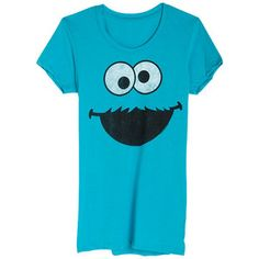 Cookie Monster Face Tee