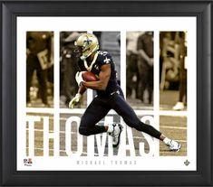 Fanatics Authentic Certified Michael Thomas New Orleans Saints Autographed White Panel Football Autographed Footballs