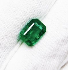 1.79 Ct Fine Natural Emerald Octagon for Earrings Ring Pendents  #RareGemIN