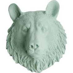 The Benzies by White Faux Taxidermy (Set of 3)