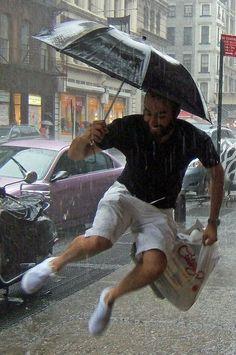 This is exactly how I feel in the rain! (mkc via Chikako Asai)