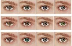 Which is your eye color?  Mine 6th <3