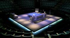 Dumb Show. New Vic Theatre, Stoke. Scenic design by Max Jones.