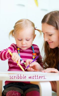 What You Need to Know About Your Child's Scribbles. The three essential stages to your child's development plus the benefits of scribbling.