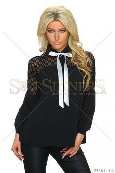 Exemplary Black Blouse