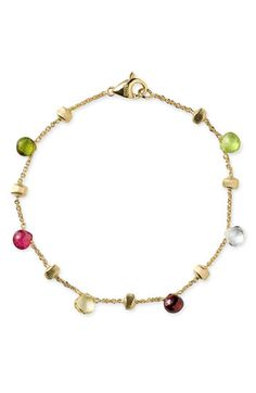 Marco Bicego 'Paradise' Single Strand Bracelet available at #Nordstrom