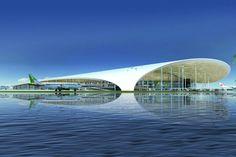 Malé International Airport in Malé, Maldives
