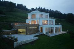 very steep slope house plans | Hillside Home Plans at family home plans