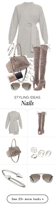 """""""Untitled #19243"""" by florencia95 on Polyvore featuring NARS Cosmetics, Proenza Schouler, Stuart Weitzman, Givenchy, Tom Ford, Forever 21 and Jules Smith"""