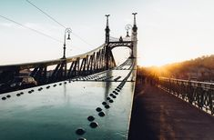 rom where to eat, drink and stay, to our top 10 favorite things to do in Budapest, keep reading for complete first timer's guide to Hungary's capital // Liberty Bridge Liberty Bridge, Buda Castle, Danube River, Public Transport, Brooklyn Bridge, Hungary, Budapest, Rooftop, Things To Do