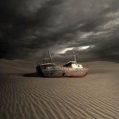 Wrecked world – Les photographies de Tomasz Zaczeniuk
