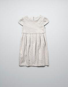 STUDDED JACQUARD DRESS - Dresses - Girl (2-14 years) - Kids - ZARA United States