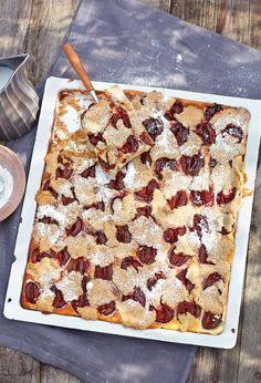Kirsch Mandel Kuchen Backen Torten Kuchen Geback Pinterest