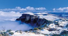 Morro da Igreja com Neve