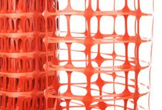The R Us fluorescent orange safety mesh can be used as a temporary fence, warning barrier, pedestrian fence and snow fence. Road Warning Signs, Snow Fence, Construction Materials, Safety, Highway 1, Mesh, Things To Come, Pedestrian, Orange