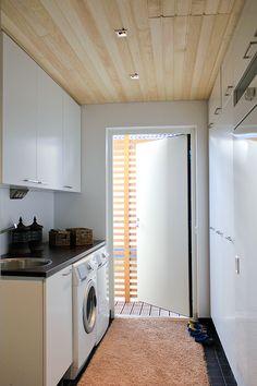 Family apartment, interior design, laundry room. Uudiskohde, perhekoti, sisustussuunnittelu, kodinhoitohuone. Familjebostad, inredningsdesign, hjälpkök.
