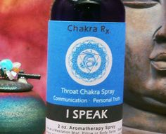 THROAT CHAKRA SPRAY  I Speak Throat Chakra 5th by ScentualGoddess