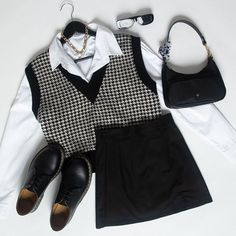 White Outfits, Retro Outfits, Fall Outfits, Polyvore Outfits Casual, Casual Outfits, Aesthetic Shirts, Aesthetic Clothes, Collared Shirt Outfits, Look Fashion