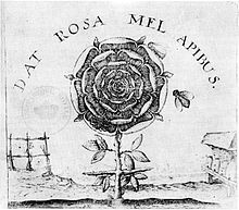 Robert Fludd   Titlepage of the Summum Bonum under the name of Joachim Frizius