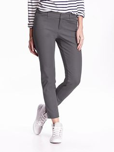 The Pixie Mid-Rise Ankle Pants, Size 4, Any Color.