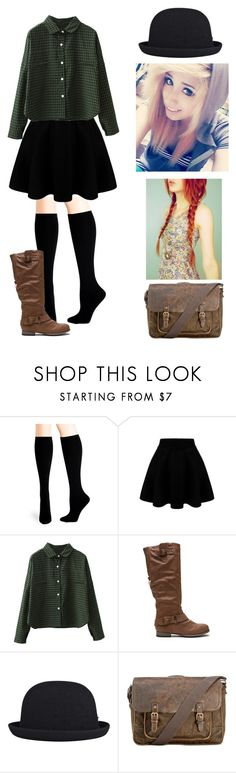 """""""~fdds~cvc"""" by kawiwi on Polyvore featuring Hue, WithChic, kangol, Patricia Nash, women's clothing, women, female, woman, misses and juniors"""