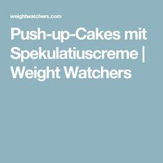 Push-up-Cakes mit Spekulatiuscreme | Weight Watchers