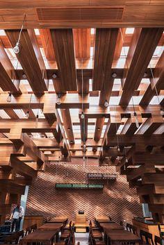 Cheering Restaurant, Hanoi, 2014 - H&P Architects
