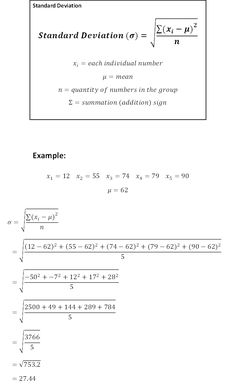 Standard 8 Maths Formula Sheet Standard 8 Maths Formula Sheet Will Be A Thing Of The Past And Here's Why standard 2 maths formula sheet Standard Deviation Cheat Sheet - wikiHow Statistics Cheat Sheet, Statistics Notes, Statistics Help, Math Formula Sheet, Math Help, Learn Math, Ap Biology, Biology Lessons, Standard Deviation