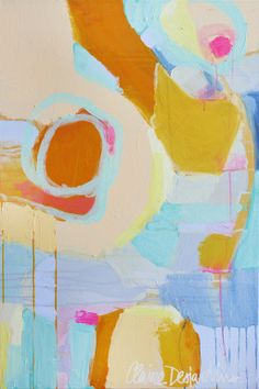 """Saatchi Online Artist: Claire Desjardins; Acrylic, 2011, Painting """"Beg The Question"""""""