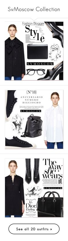 """""""SvMoscow Collection"""" by lucky-1990 ❤ liked on Polyvore featuring Maison Margiela, Y-3, Sinclair, Blackyoto, Vetements, The Row, Junya Watanabe, Comme des Garçons, Rodial and Isaac Sellam"""