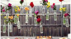 How to Throw a Backyard Wedding : Decor