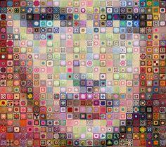 Gallery.ru / Фото #21 - Бабушкины квадраты - Jollga