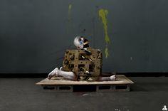 MEAN MACHINE   #grotesque # machine #man #gear #puppet #drunk #people #weekend #homologate #dorothybhawl