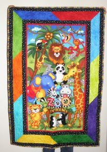 """Zoo Friends Baby Quilt"""