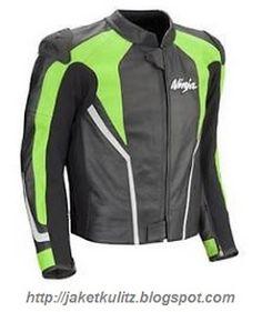Jual Jaket Kulit Kawasaki Ninja 250 FI Custom Design, Hub: 081703402482 (WA/TLP)