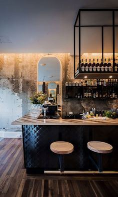 The Best Vintage Industrial Bar And Restaurant Design Ideas Interior Designers Sydney, Bar Interior Design, Industrial Interior Design, Cafe Interior, Interior Design Magazine, Industrial Style, Vintage Industrial, Industrial Drawers, Industrial Bedroom
