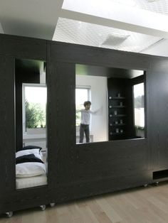 Interior for students 15 600x800 Highly Flexible Cube Room in Moscow Especially Designed for Studying