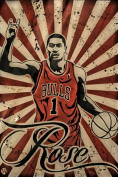 fbd9efe4bf9 Rose   homeboy   Chicago Bulls. Spends free time mentoring youth without  role models. Derrick Rose WallpapersNba ...