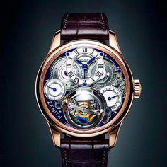 Zenith Academy Hurricane Grand Voyage II ...........#Zenith #Academy #GrandVoyage #unique #picoftheday #loveit #tourbillon #gyro #instacool #instawatch #collector #time #luxury #watch @zenithwatches by spaciotti