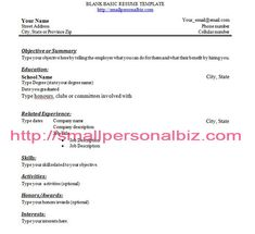 Fill In The Blank Resume PDF - Fill In The Blank Resume PDF we ...