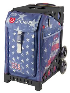 GO USA! ZUCA BAG This patriotic bag puts you on the path to victory.