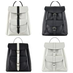 Opposites attract leather rucksack Collection by Grafea http://www.grafea.co.uk/shop/GRAFEA_OPPOSITES_ATTRACT_COLLECTION.html