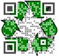 Tuesday's engaging Visual QR Codes created on visualead.com