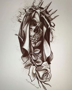 Архив эскизов для тату. | VK Sketch Tattoo Design, Forearm Tattoo Design, Skull Tattoo Design, Tattoo Sketches, Tattoo Drawings, Tattoo Outline Drawing, Arte Lowrider, Skull Tattoo Flowers, Greek Mythology Tattoos