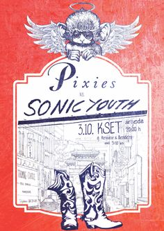 GigPosters.com - Pixies - Sonic Youth