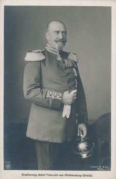 Germany Adolf Frederick Grand Duke of Mecklenburg Strelitz